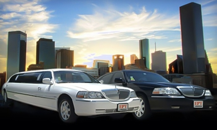 EPT Limousine and Parking - Spring Branch West: $35 for $75 Worth of Airport Transportation or $135 for Three Hours of Limousine Service ($270 Value) from EPT Limousine and Parking