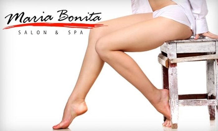 Maria Bonita Salon & Spa - NoLita: Choose Between a Cellulite Treatment Package or Hair Surgery Treatment and Manicure from Maria Bonita Salon & Spa (Up to $272 Value)