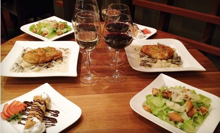 3-Course Italian Dinner for 2 (a $98 total value) - Indulge Bistro & Wine Bar in Highlands Ranch