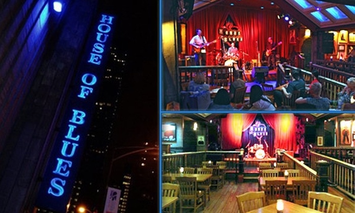 House of Blues - Chicago: $25 for $50 Worth of Comfort Food and Drinks at House of Blues' Back Porch Restaurant