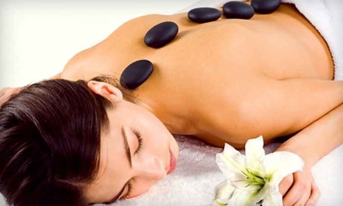 Plaza West Massage and Day Spa - West Plaza: Hot Stone Massage and Sauna Packages at Plaza West Massage and Day Spa