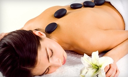 Plaza West Massage and Day Spa: 1-Hr Hot Stone Massage with Personal Aromatherapy Blend & 30-Minute Sauna - Plaza West Massage and Day Spa in Kansas City