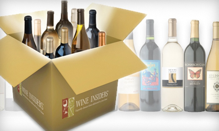 Wine Insiders: $25 for $75 Worth of Merchandise from Wine Insiders