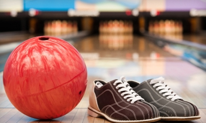 Air Lanes Bowling - Southwestern Hills: $27 for Two Hours of Bowling, Shoe Rental, and a Pitcher for Up to Four People at Air Lanes Bowling (Up to $56.40 Value)