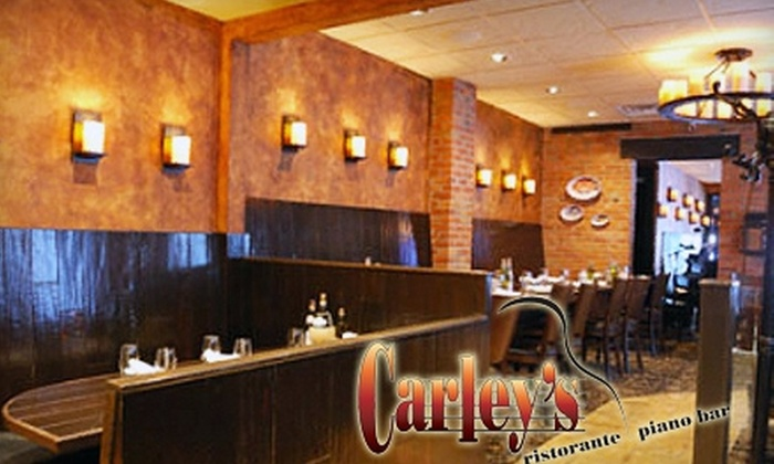 Carley's Ristorante and Piano Bar - Harrisburg: $25 for $50 Worth of Rustic Italian Fare at Carley's Ristorante and Piano Bar