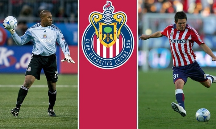 Chivas USA - Los Angeles: $19 Tickets to Chivas USA vs New England Revolution, 9/13, 12:00 p.m. More Games Available.