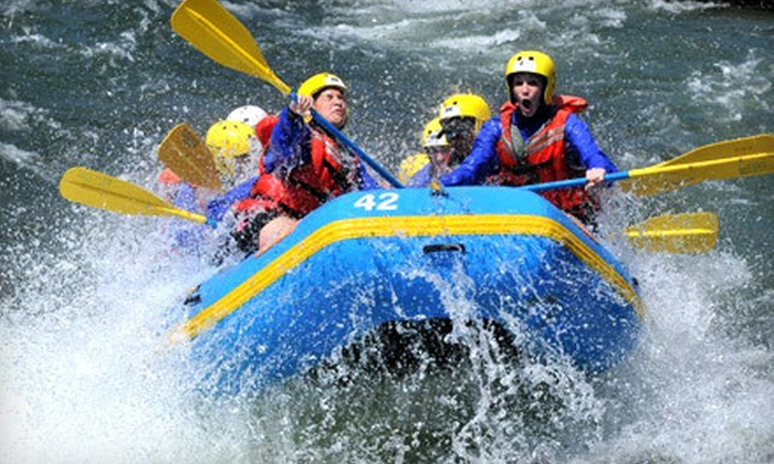 Whitewater Connection - Fresno: Full-Day Whitewater-Rafting Trip from Whitewater Connection on the Kaweah or Middle Fork American River (Up to 53% Off)