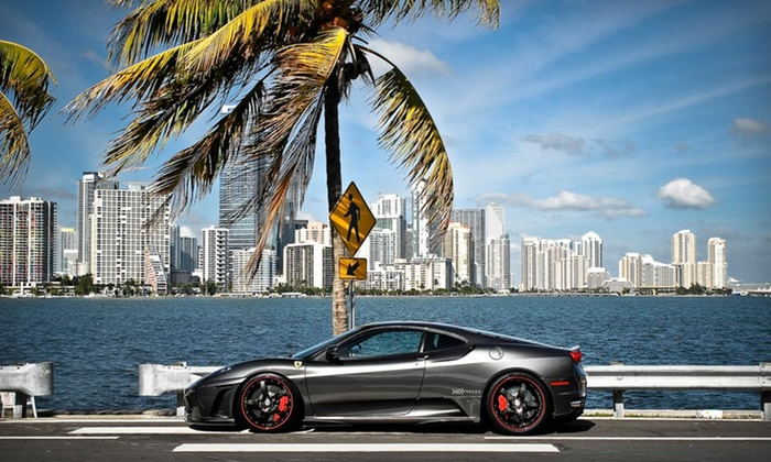 Rent Dream Cars - Northeast Coconut Grove: Two-Night Stay for Two in a Mayfair Suite at Mayfair Hotel & Spa in Miami and a Ferrari Rental from Rent Dream Cars