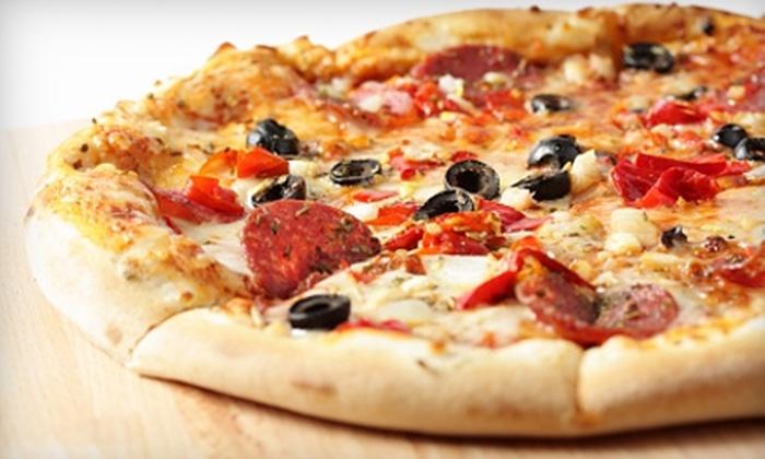 Hometown Pizzeria - Van Buren: $7 for $15 Worth of Gourmet Pizzas, Wings, and More at Hometown Pizzeria