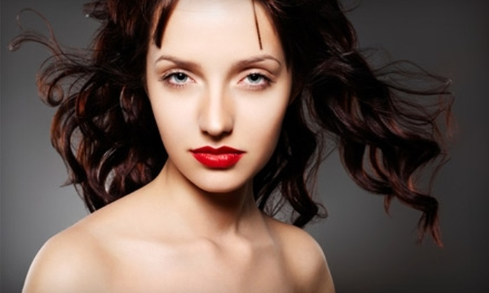 Blades Salon & Day Spa - College Park: $65 for Haircut, Blow-Dry, and Deep Conditioning and Glaze, Plus 20% Off Additional Services, at Blades Salon & Day Spa ($130 Value)