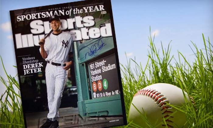 Steiner Sports: Framed, Autographed Derek Jeter Photo or Yankees Memorabilia from Steiner Sports