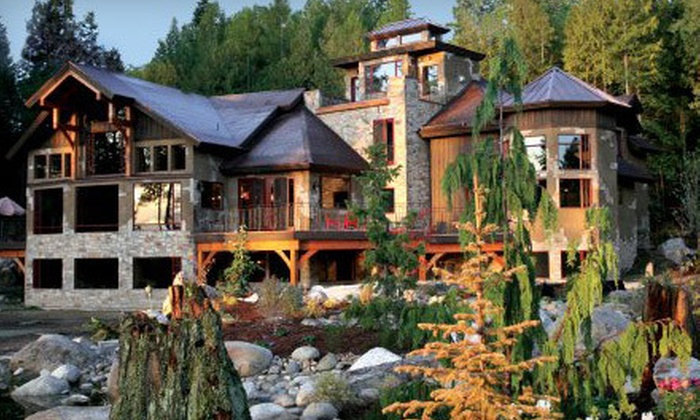 Talus Rock Retreat - Glacier North: Two-Night Stay for Two or Four at Talus Rock Retreat in Sandpoint (Up to Half Off). Four Options Available.