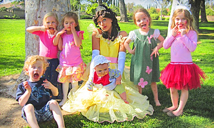Tiara Parties - Sherman Oaks: $150 for a Platinum Princess Party Package for Up to 20 Children from Tiara Parties ($300 Value)
