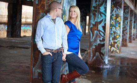 Engagement-Photo-Shoot Package ($325) with 25 Custom-Designed Save-the-Date Cards - Bold & Kreative Photography in