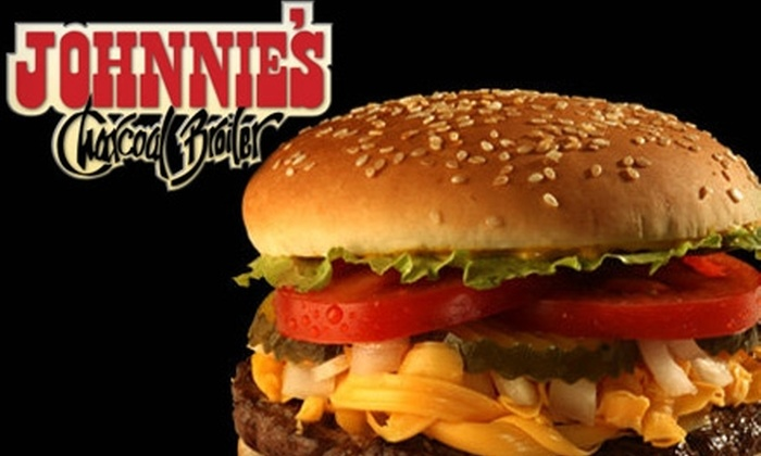 Johnnie's Charcoal Broiler - Multiple Locations: $7 for $14 Worth of Burgers, Sandwiches, and More at Johnnie's Charcoal Broiler