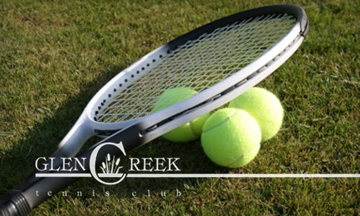 Glen Creek Tennis Club - South Park: $45 for a Six-Week Play Tennis America or Cardio Tennis Class at Glen Creek Tennis Club in South Park