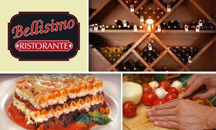 Bellisimo Ristorante - Citrus Park Community: $10 for $20 Worth of Italian Cuisine at Bellisimo Ristorante