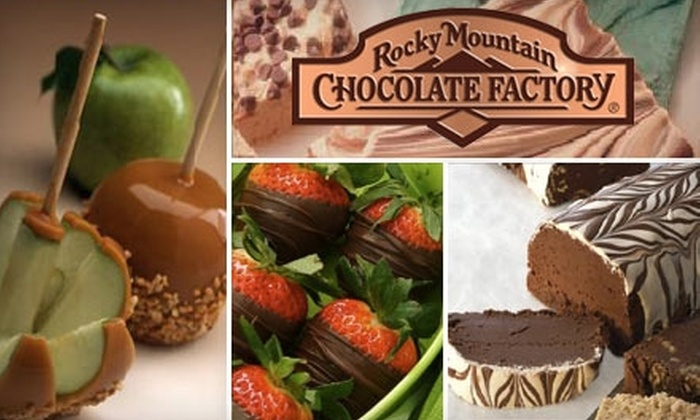 Rocky Mountain Chocolate Factory - Spokane Valley: $6 for $12 Worth of Store-Made Sweets at Rocky Mountain Chocolate Factory in Spokane Valley