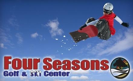 Four Seasons Golf & Ski Center: 1 All Day Adult Lift Ticket - Four Seasons Golf & Ski Center in Fayetteville