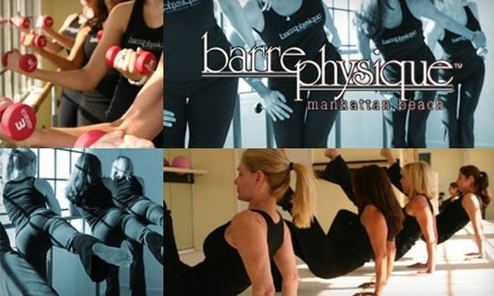 Barre Physique  - Manhattan Beach: $20 for Any Three Classes at Barre Physique in Manhattan Beach ($63 Value)