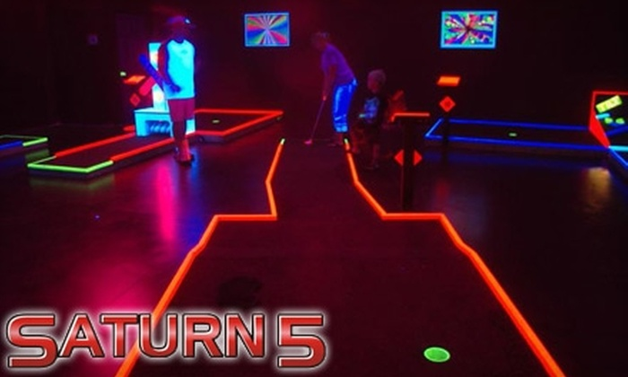 Saturn 5 - Samoset: $6 for Four Games of Black-Light Mini Golf, Plus 10% Off Fare and Drinks, at Saturn 5 in Bradenton (Up to $24 Value)