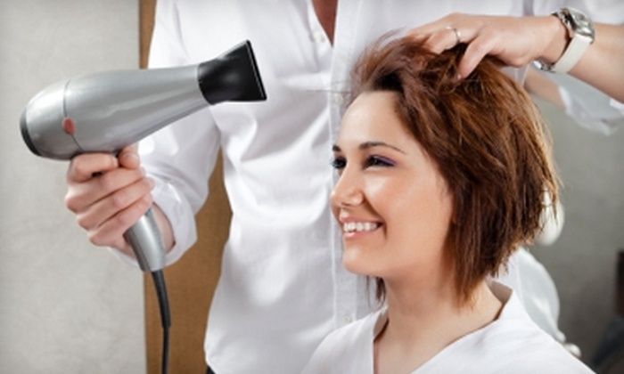 Lisa Marie Salons - Northwest Akron: $45 for Women's Haircut and Single Process Color at Lisa Marie Salons ($105 Value)