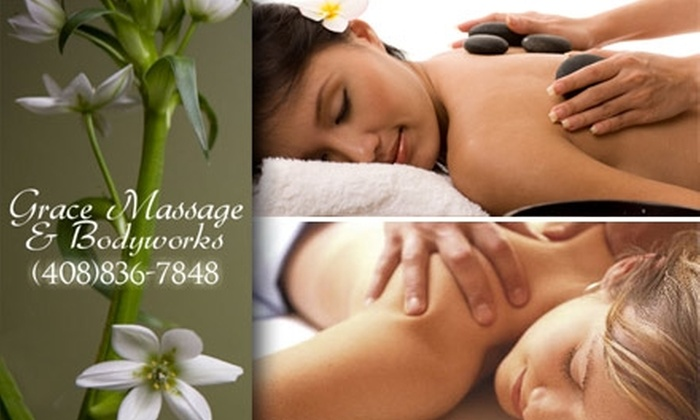 Grace Massage & Bodyworks - Willow Glen: $36 for Any of Seven Restorative, 60-Minute Massages at Grace Massage & Bodyworks (Up to a $110 Value)