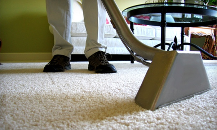 Sears Carpet & Upholstery Care - Pearland: $84 for Carpet Cleaning and Protectant for Three Rooms from Sears Carpet & Upholstery Care (Up to $168 Value)