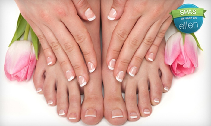 Shear Illusions by Amber Goins - Downtown Fayetteville: Manicure, Pedicure, or Mani-Pedi at Shear Illusions by Amber Goins in Fayetteville