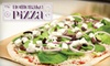 The Homebake Pizza Company - CLOSED - Roncesvalles Village: $12 for $25 Worth of All-Natural, Organic Fare at The HomeBake Pizza Company