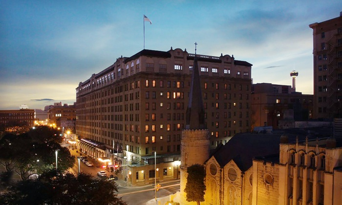 The St. Anthony Riverwalk Wyndham Hotel - Downtown: One- or Two-Night Stay for Two in a King or Queen Room at The St. Anthony Riverwalk Wyndham Hotel in San Antonio