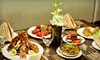 Namaste - Astoria: Indian Dinner with Appetizers, Entrees, Drinks, and Desserts for Two or Four at Namaste in Astoria (Up to 54% Off)