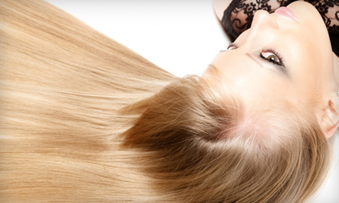 International Hair & Day Spa - Downtown Overland Park: CHI Hair Smoothing or CHI Hair Smoothing with Cut and Style at International Hair & Day Spa in Overland Park (Up to 51% Off)