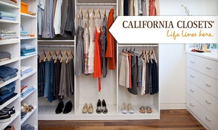 California Closets - Brookfield: $100 for $250 Towards a Closet System from California Closets