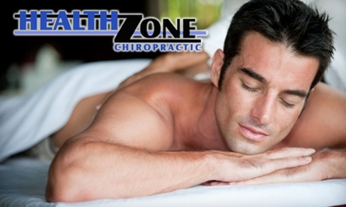 HealthZone Chiropractic - Grand Haven: $20 for a 60-Minute Massage at HealthZone Chiropractic ($40 Value)