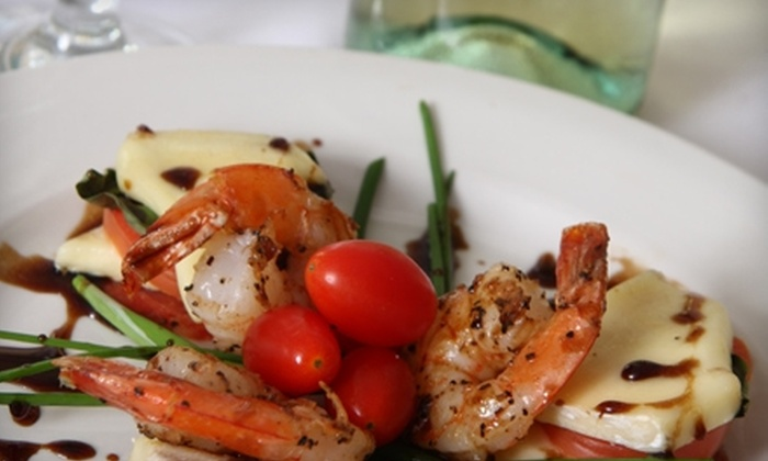 Chef J Bistro and Cooking Studio - Caloosahatchee: $20 for Gourmet Cooking Class and a Glass of Wine at Chef J Bistro and Cooking Studio