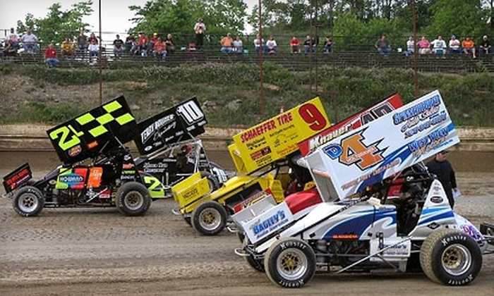 Pittsburgh's Pennsylvania Motor Speedway - North Fayette: $39 for Family Fun Package at Pittsburgh's Pennsylvania Motor Speedway in Imperial (Up to $83 Value)