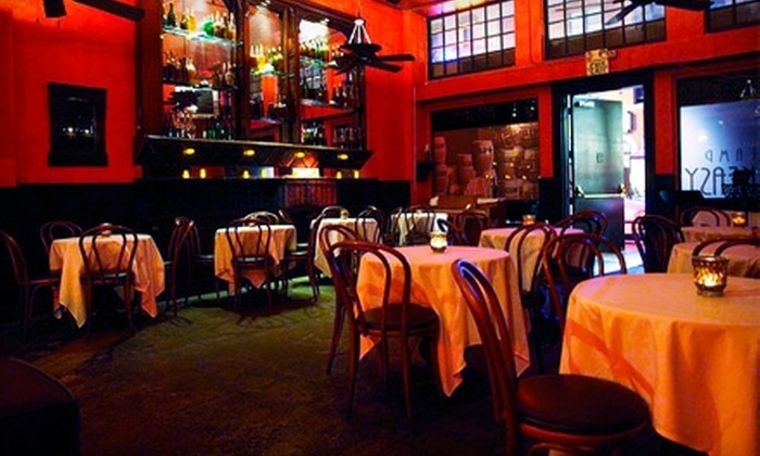 Gaslamp Speakeasy - Horton Plaza: $10 for $20 Worth of Sophisticated Fare and Drinks at Gaslamp Speakeasy