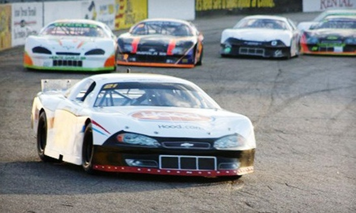 Beech Ridge Motor Speedway - Scarborough: $10 for NASCAR Whelen All-American Series Entry for Two at Beech Ridge Motor Speedway on August 20 at 6:30 p.m. ($20 Value)