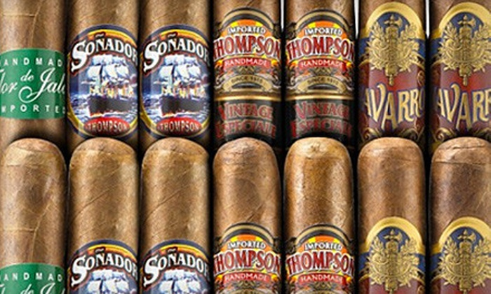 Thompson Cigar Retail Outlet - Town 'n' Country: $12 for $25 Worth of Cigars and Accessories at Thompson Cigar Retail Outlet