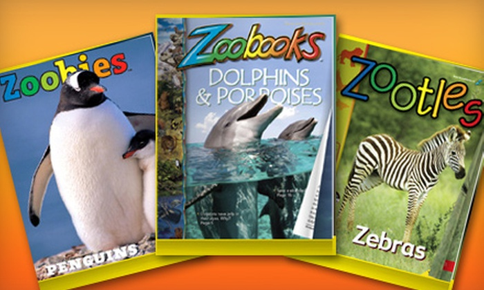 """Zoobooks"" Magazine - Abilene, TX: $15 for a One-Year Subscription to ""Zoobooks,"" ""Zoobies,"" or ""Zootles"" Magazines with Posters and Stickers ($29.95 Value)"