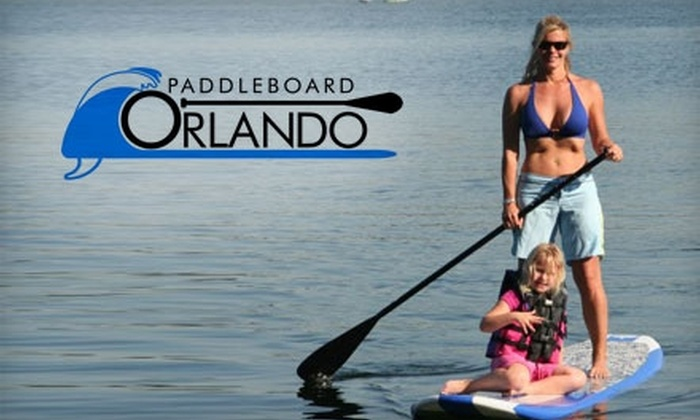 Paddleboard Orlando - Winter Park: $22 for an Hour-Long Semi-Private Stand-Up Paddleboarding Lesson and an Hour of Free Play from Paddleboard Orlando ($45 Value)