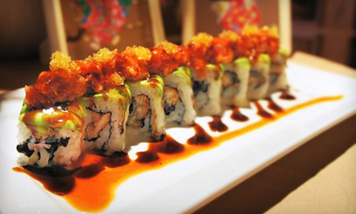 Fuji Mountain - Center City West: $25 for $50 Worth of Authentic Japanese Cuisine at Fuji Mountain