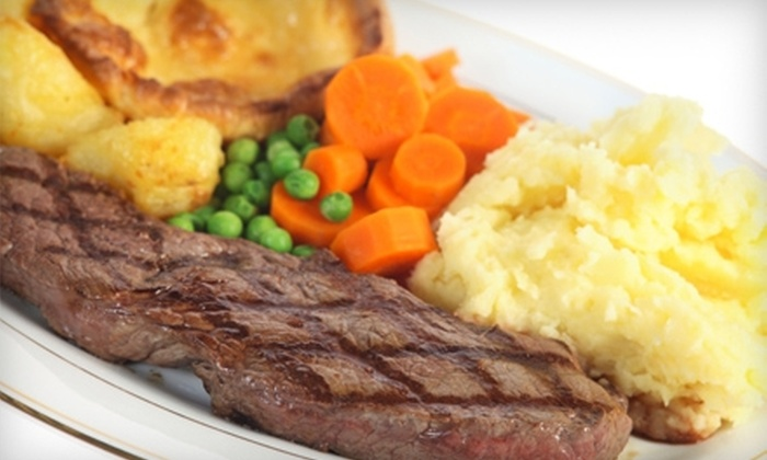 Victor's Maywood Inn - Maywood : $15 for $30 Worth of American and Continental Dinner Fare and Drinks at Victor's Maywood Inn.