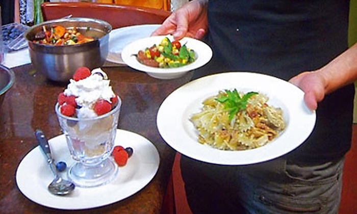 Kitchens on the Square - Historic District - North: $12 for a 90-Minute Lunch and Learn Cooking Class at Kitchens on the Square ($25 Value)