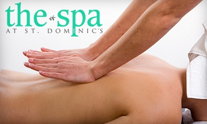 The Spa at St. Dominic's - Jackson: $37 for a 60-Minute Therapeutic Massage at The Spa at St. Dominic's ($75 Value)
