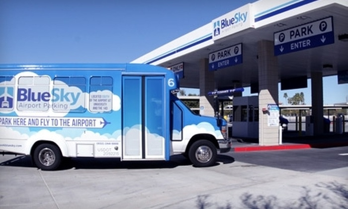 Blue Sky Airport Parking - South Mountain: $11 for Three Days of Covered Parking at Blue Sky Airport Parking (Up to $33 Value)