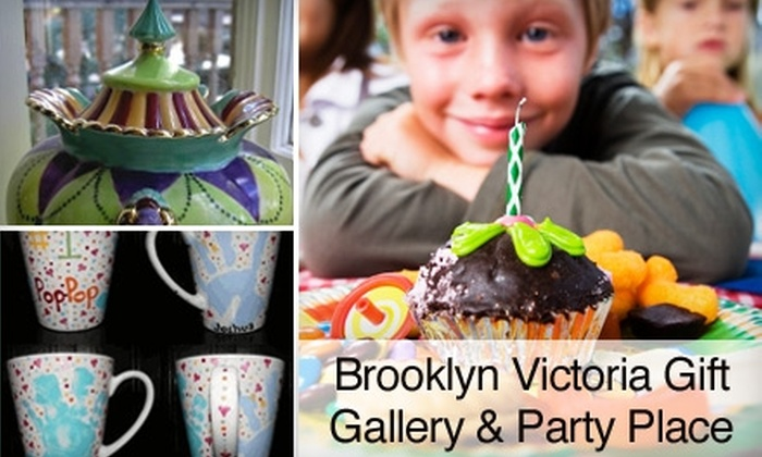 PYOP - Nicoma Park: $8 for $16 Worth of Paint-Your-Own Pottery Plus Studio Fee at PYOP (up to $23 Value)