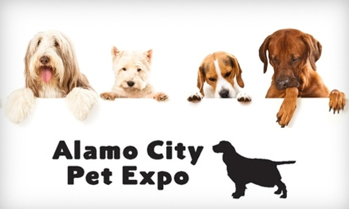 Alamo City Pet Expo - San Antonio: $10 for Family Four-Pack of Tickets to Alamo City Pet Expo ($20 Value)