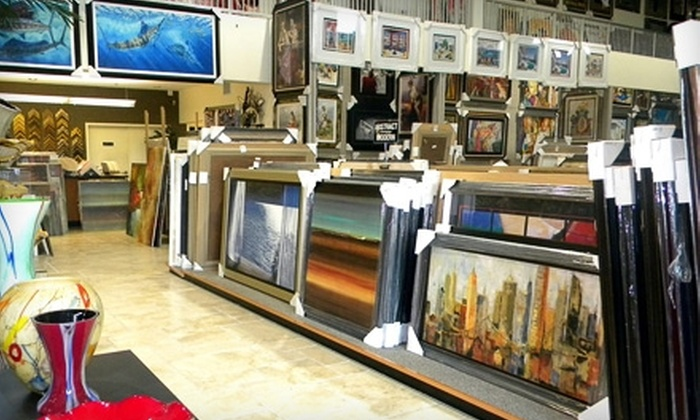 Art Connection - Morningstar Lake: $30 for $60 Worth of Prints, Posters, and Frames at Art Connection in Pompano Beach
